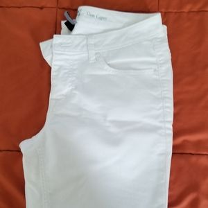 Apt 9   White Jeans Ankle/ Cropped